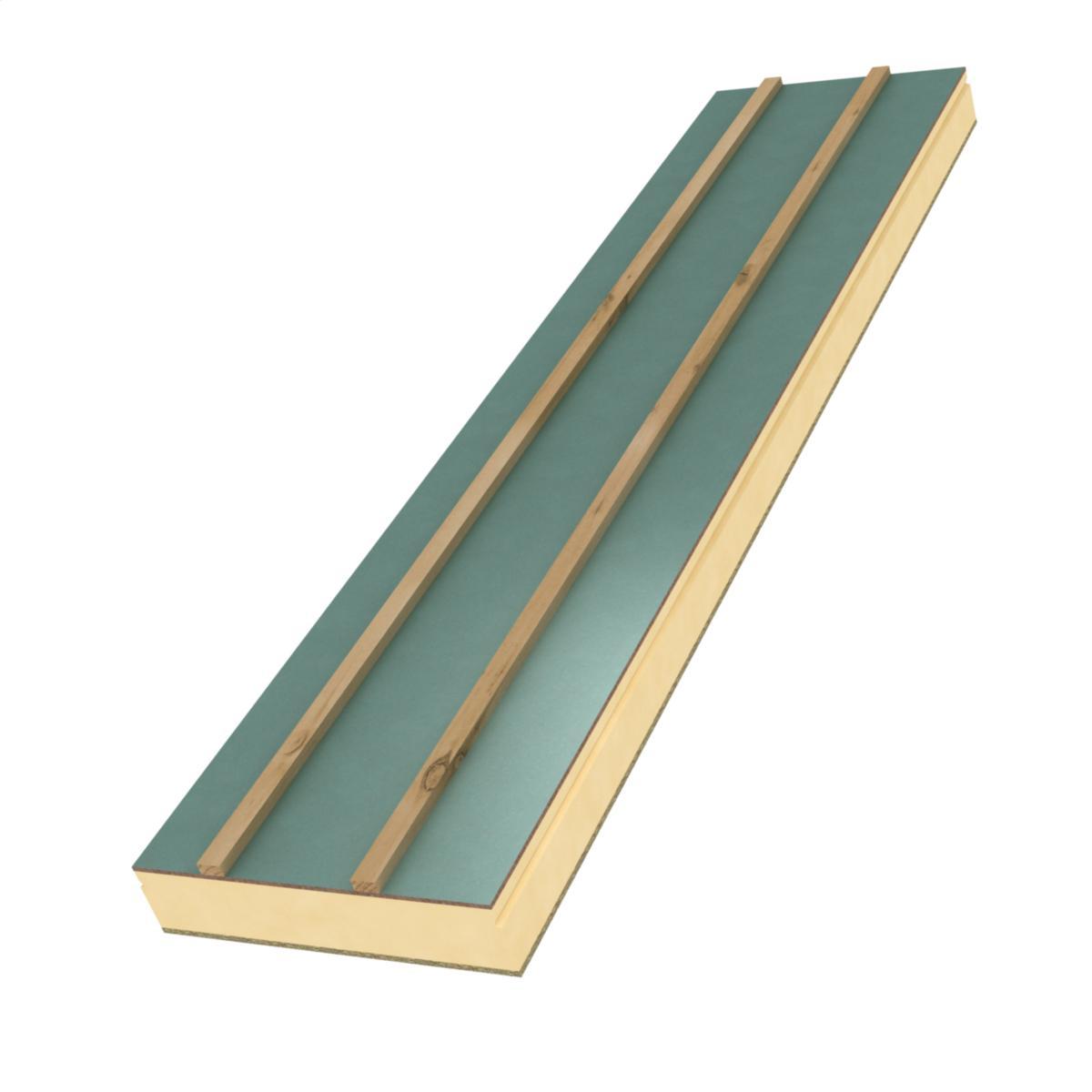Isolation toiture garage charpente